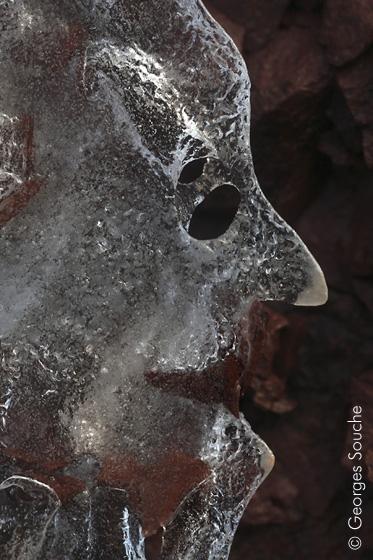 masque de glace