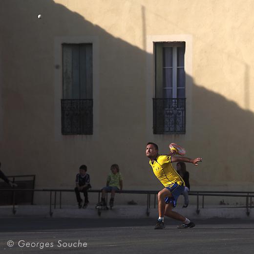 Match de tambourin, Gignac, 21/05/11