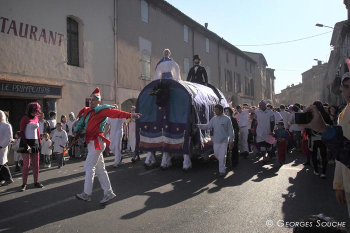 Carnaval de Pézenas, le poulain, 21/02/12