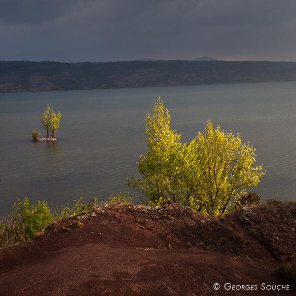 Lac du Salagou, avril 2012