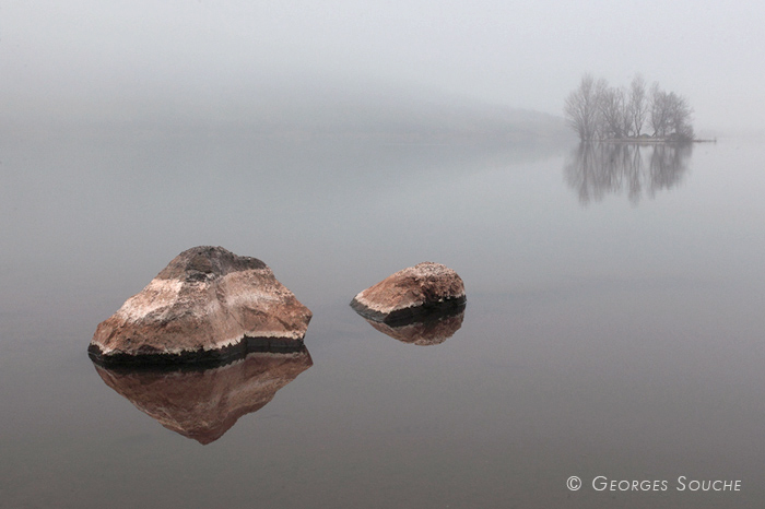 Lac du Salagou, 02/03/2012