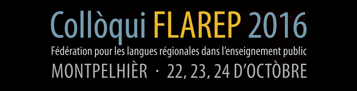 Colloque FLAREP 2016