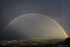 Arc-en-ciel sur la vallée de l'Hérault