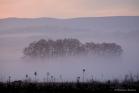 Brume matinale sur la vallée de l'Hérault