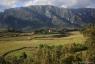 Le Caroux depuis la vallée de l'Orb