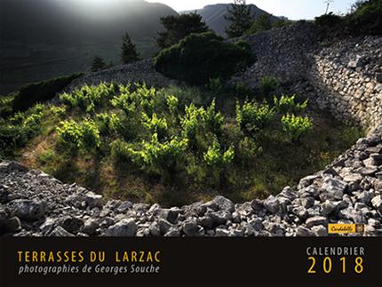 calendrier 2018 Terrasses du Larzac