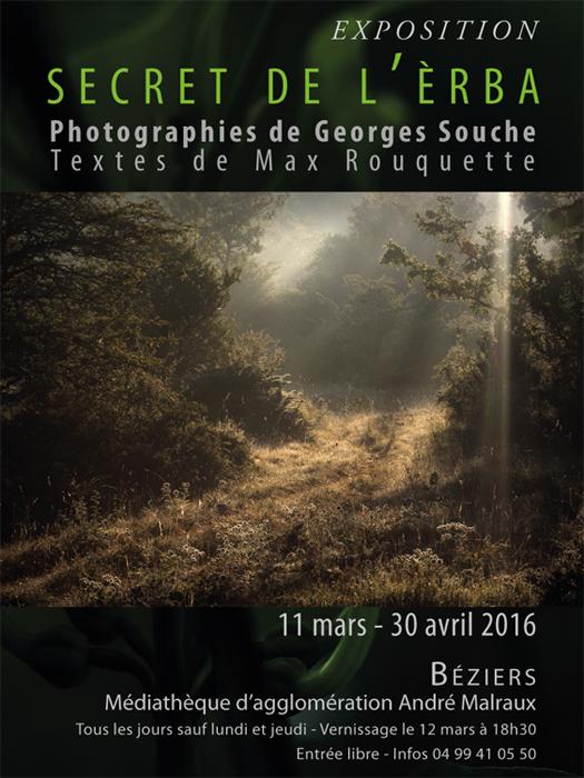 exposition Georges Souche à Béziers